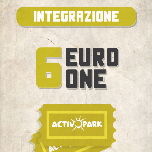 integrazione ONE 1 percorso avventura