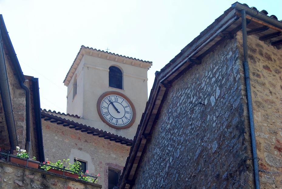 Scheggino - La Torre dell'Orologio