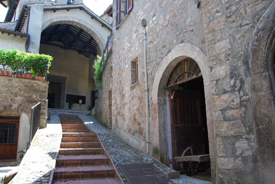 Scheggino - La chiesa di san Nicola