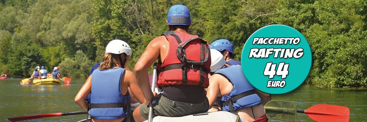 Rafting e parco avventura Activo Park